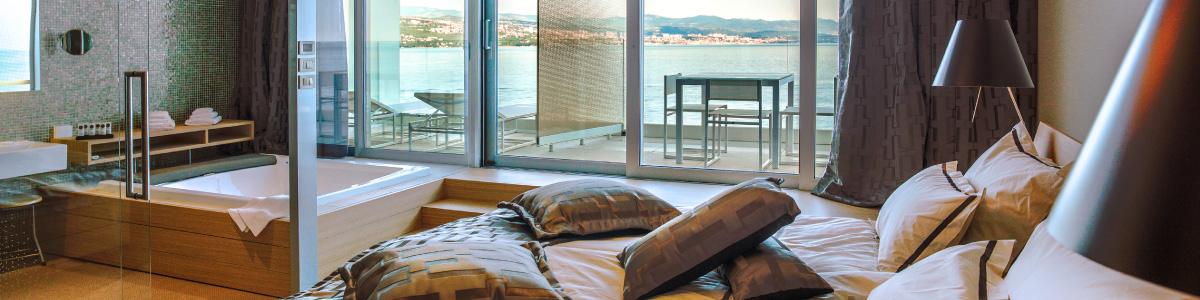 Bevanda 5 star design hotel restaurant bar opatija for Design hotel opatija